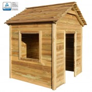 vidaXL Outdoor Playhouse 123x120x146 cm FSC Pinewood