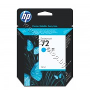 Мастило HP 72, Cyan (69 ml), p/n C9398A - Оригинален HP консуматив - касета с мастило