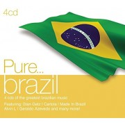 Feat. StanGetz,Cartola,Made in Brazil etc - Pure...brazil (4CD)