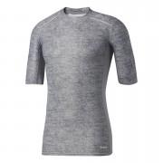 adidas Men's TechFit Climachill T-Shirt - Core Heather - XS - Core Heather