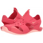 Nike Sunray Protect 2 (Little KidBig Kid) Tropical PinkBleached Coral
