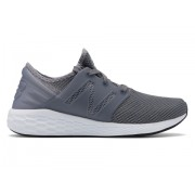 New Balance Men's Fresh Foam Cruz v2 Knit Grey with White