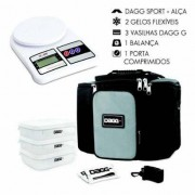 Kit com Bolsa Térmica Fitness Dagg 6L e Balança Digital de cozinha até 5kg - Unissex