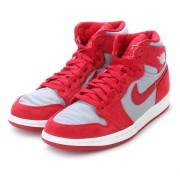 ナイキ NIKE kinetics AIR JORDAN 1 RETRO HIGH PREM (RED) メンズ
