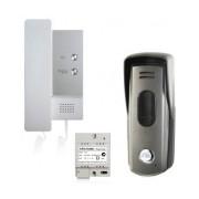Elikon Kit Audioportero EVD2-10KIT incluye Frente, Teléfono y Fuente de Poder
