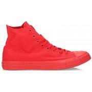 Converse All Star Hi Canvas Monochrome - sneakers - uomo - Red