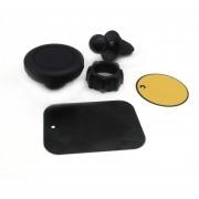 ER Ventilación De Salida De Aire De Coche Universal GPS Teléfonos Móviles MP3 Soporte De Montaje En Soporte -Negro