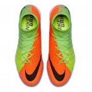 Tenis Fútbol Hombre Nike HypervenomX Proximo II DF TF -Verde Con Naranja