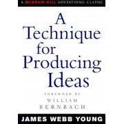 A Technique for Producing Ideas, Paperback