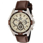 Casio Analog White Dial Mens Watch-EFR-554L-7AVUDF