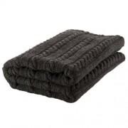 Nord Snow Classic Style Merino Wool Blanket - Dark