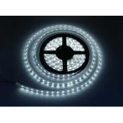 LED szalag , kültéri , 3528 , 120 led/m , 7,2 Watt/m , 6400K, hideg fehér méteres