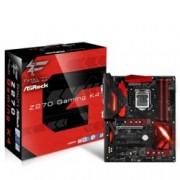 Дънна платка ASRock Fatal1ty Z270 Gaming K4, Z270, LGA1151, DDR4, PCI-E (HDMI&DVI&VGA)(CF), 6x SATA 6Gb/s, 1x M.2 Socket, 3x USB 3.0, ATX