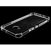 Gel Case with Bumper Edges for HTC U11 Life - HTC Soft Cover (Clear)