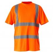 Tricou reflectorizant / portocaliu - l