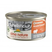 ALMO NATURE Gatto Holistic Maintenance Adult Grain Free Mouse Con Sogliola 85g