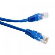 Cablu UTP 4World Patch cord neecranat Cat 5e 10m Albastru