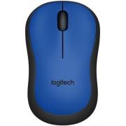 Mouse Logitech Optic Wireless M220 Silent (Albastru)