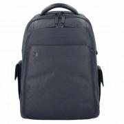 Piquadro Black Square 3444 Sac à dos cuir 43 cm compartiment Laptop