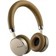 Casti Stereo Pioneer SE-MJ561BT-T, Bluetooth, NFC, Microfon (Maro/Auriu)