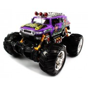Big Size Quality Electric Full Function 1:16 Grave Digger Toyota Fj Cruiser Monster Rtr Rc Truck (Colors M Ay Vary) Quality Remote Control Rc Trucks W/ Working Suspension By Velocity Toys