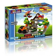 1000 Building Bricks Lego Compatible - Kids Toys, Safe - Includes 10 Wheels and Brick Removing Tool - By Creative Builders