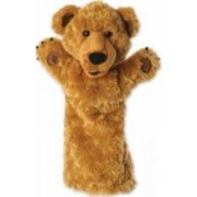 Jucarie educativa The Puppet Company Hand Doll - Brown Bear