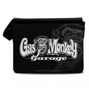 Gas Monkey Garage Logo Messenger Bag, Messenger Bag