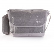 Bolso Route Travel Messager W Gris Melange Large Lippi