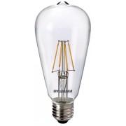 Bec Led Sylvania ToLedo Retro ST64, E27, 4W, lumina calda (2700K), 470 lumeni, 220-240V, durata de viata 15000 ore, clasa energetica A++