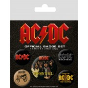 AC/DC (logo) kitűzők - BP80494