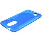 Wave Case for LG K4 (2017) - LG Soft Cover (Blue)