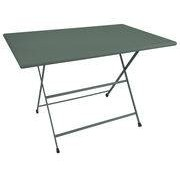EMU Table pliante Arc en Ciel / 110 x 70 cm - Emu vert foncé en métal
