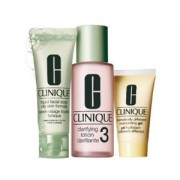 CLINIQUE 3 STEP SKIN CARE SYSTEM TYPE 3