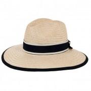 HUTTER cappello elegante in paglia naturale da donna