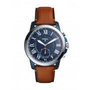 メンズ FOSSIL Q Q Grant Hybrid Smartwatch スマートウォッチ ブラウン