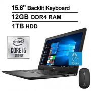 Dell 2020 Newest Premium Inspiron 14 3000 Laptop (Intel Core i3-8145U up to 3.9GHz, 4GB DDR4 RAM, 512GB SSD, Intel UHD 620, WiFi, Bluetooth, HDMI, Windows 10 Home, Black)