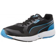 Puma Men's Future Runner DP Black and Cloisonné Mesh Running Shoes - 8 UK/India (42 EU)