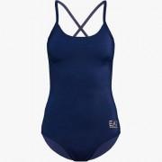 EA7 Emporio Armani dames badpak - Sea World blauw