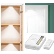 LED svítidla 2xpack do skříňky + magnetický senzor - 2x 1,5V AAA baterie