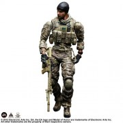 """Square Enix Play Arts Kai Preacher """"Medal of Honor"""" War Fighter Action Figure"""