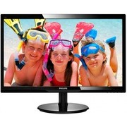 Philips monitor LED 246V5LSB, 24\ FHD, DVI, fekete