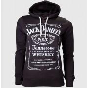 kapucnis pulóver női Jack Daniels - Black - JACK DANIELS - HD130602JDS
