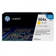HP Originale Color LaserJet CM 3530 FS MFP Toner (504A / CE 252 A) giallo, 7.000 pagine, 3,31 cent per pagina
