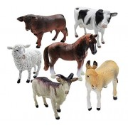 Zoo Wild Animal Figure Set of Kids (Pack of 1 Contains 20 Animals)