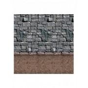 Vegaoo Wanddekoration Steinmauer 1,20x2m