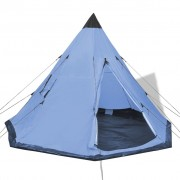 vidaXL 4-person Tent Blue