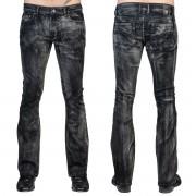Herren Hose (Jeans) WORNSTAR - Hellraiser Smoke - Schwarz - WSGP-HRKSW