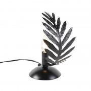 QAZQA Vintage table lamp small black - Botanica