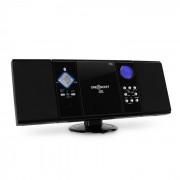 OneConcept V-12-BT Cadena estéreo MP3 CD USB SD AUX Bluetooth (MG3-V12-BT-Black)